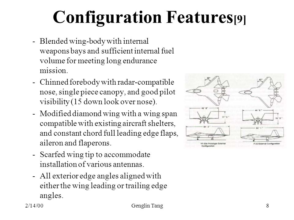 Configuration Features[9]
